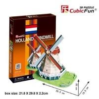 HOLLAND WINDMILL 3D MAKETİ