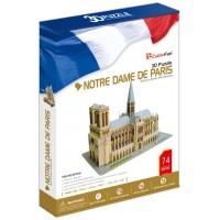 NOTRE DAME DE PARİS 3D MAKET