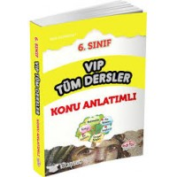 6. Sınıf VIP Tüm Dersler Konu Anlatımı