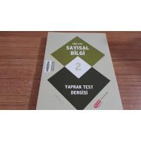 YGS-LYS SAYISAL BİLGİ 2 -YAPRAK TEST DERGİSİ