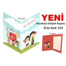 Yeni - Anaokulu Gelişim Raporu  Kılıfı  219