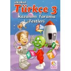 3. SINIF TÜRKÇE KAZANIM TARAMA TESTLERİ