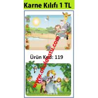 Karne Kılıfı Kod: 119, Safari