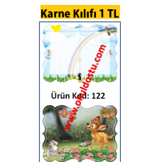 Karne Kılıfı Kod: 122, Bambi