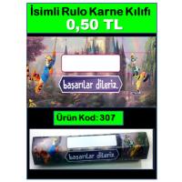 İsimli Rulo Model Karne Kılıfları 307