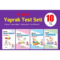 3. Sınıf Yaprak Test Seti