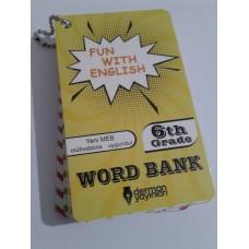6. Sınıf Fun With English WORD BANK ( Resimli İngilizce Kelime Kartları)