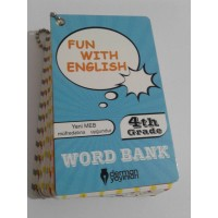 4. Sınıf Fun With English WORD BANK ( Resimli İngilizce Kelime Kartları)