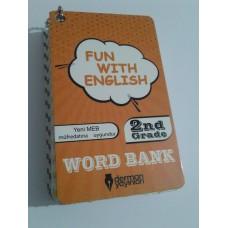 2. Sınıf Fun With English WORD BANK ( Resimli İngilizce Kelime Kartları)