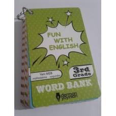 3. Sınıf Fun With English WORD BANK ( Resimli İngilizce Kelime Kartları)