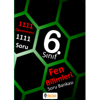 6. Sınıf Fen Bilimleri Soru Bankası - Derman Yayınları