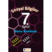 7. Sınıf Sosyal Bilgiler Soru Bankası  - Derman Yayınları