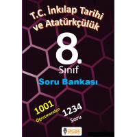 8. Sınıf T.C. İnkılap Tarihi ve Atatürkçülük  Soru Bankası - Derman Yayınları