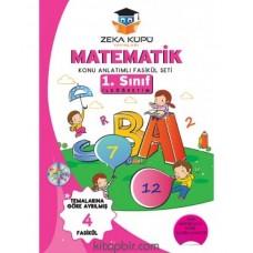 1. Sınıf Matematik Konu Anlatımlı Soru Bankası Zeka Küpü Yayınları