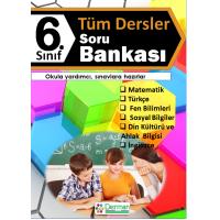 6. Sınıf Tüm Dersler Soru Bankası - Derman Yayınları
