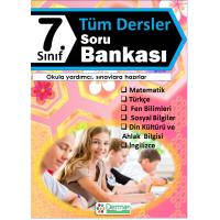 7. Sınıf Tüm Dersler Soru Bankası - Derman Yayınları